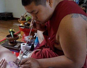 Sak Yant Master Monk Eak